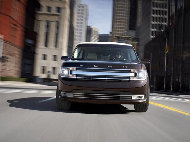 Ford Flex ganhou pequenas alterações estéticas (Foto: Divulgação)