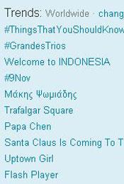 Trending Topics no Mundo, (Foto: Reprodução)