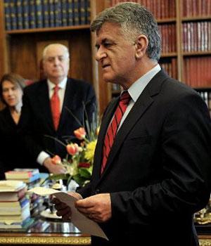 Filippos Petsalnikos, em imagem de 2010 (Foto: AFP)