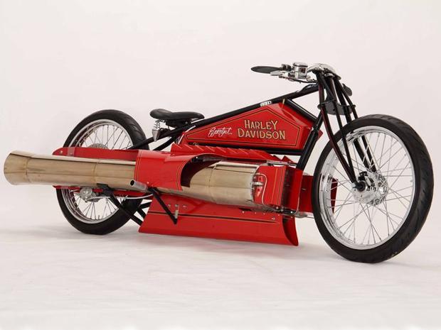 Harley-Davison de 1929 alcança 320 km/h (Foto: Divulgação)