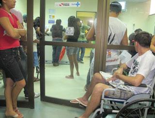 hospital regional de santarem marcação de consultas lotado (Foto: Tahiane Stochero/G1)
