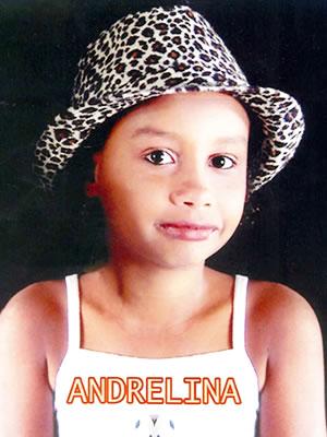Menina desaparecida (Foto: Arquivo pessoal)
