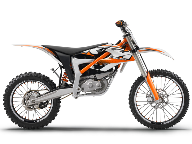 KTM Freeride E &#233; a primeira el&#233;trica da marca (Foto: Divulga&#231;&#227;o)