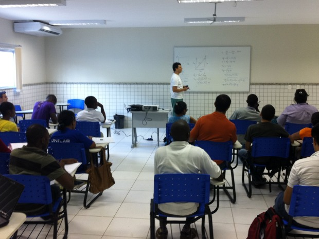 Dos 360 alunos da Unilab, 38 são de países lusófonos estrangeiros. (Foto: André Teixeira/G1)