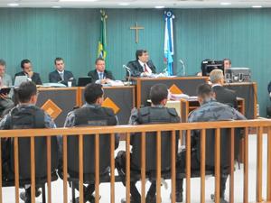 Julgamento do caso juíza (Foto: Fabrício Costa/GE)