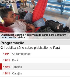 Pará plebiscito (Foto: Editoria de Arte/G1)