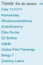 Trending Topics no Rio às 12h02 (Foto: Reprodução)