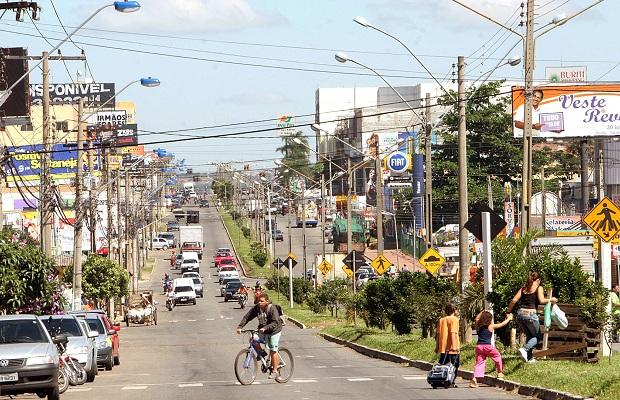 Aparecida de Goiânia completa 58 anos de emancipação (Foto: Diomício Gomes/O Popular)