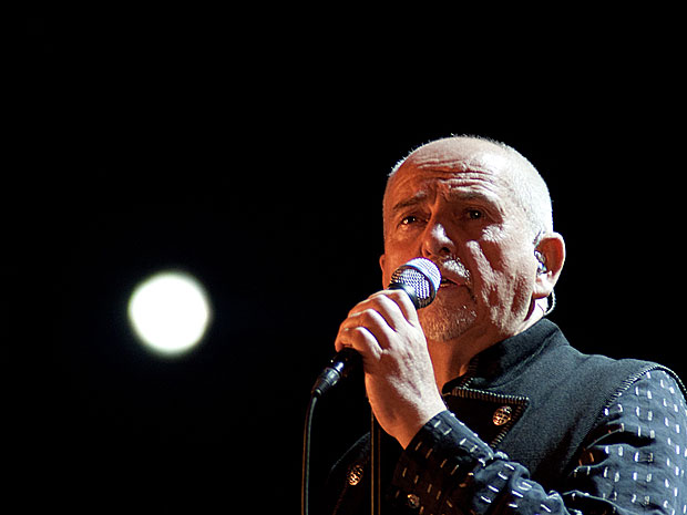 Peter Gabriel (Foto: Caio Kenji/G1)