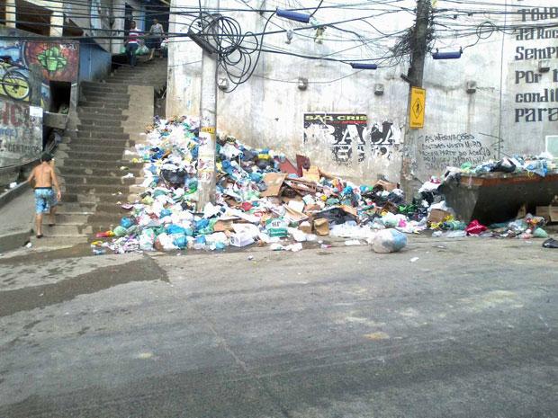 Rocinha (Foto: Tahiane Stochero/G1)