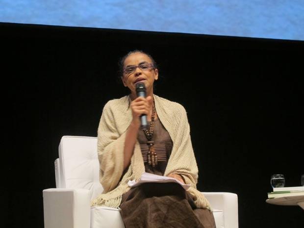Marina Silva SWU (Foto: Eduardo Carvalho/G1)