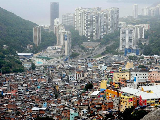 Rocinha (Foto: Divulgação/Governo do Rio)
