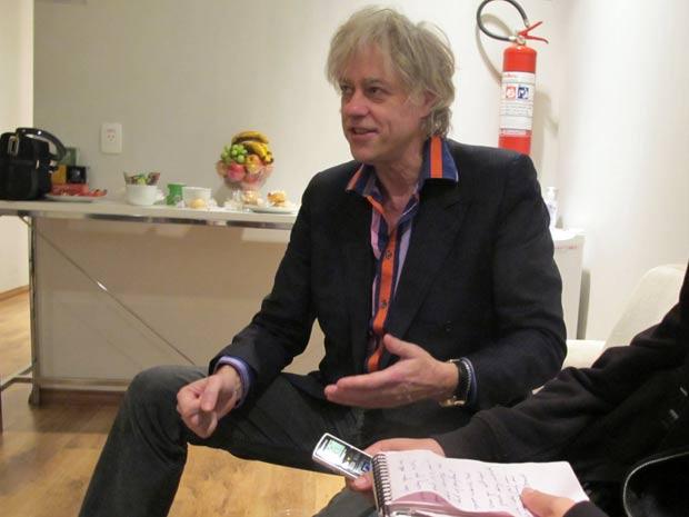 Bob Geldof (Foto: Dennis Barbosa/G1)