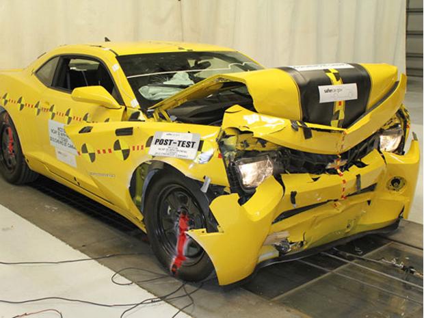 Camaro leva cinco estrelas em teste de segurança nos EUA  (Foto: Divulgação)
