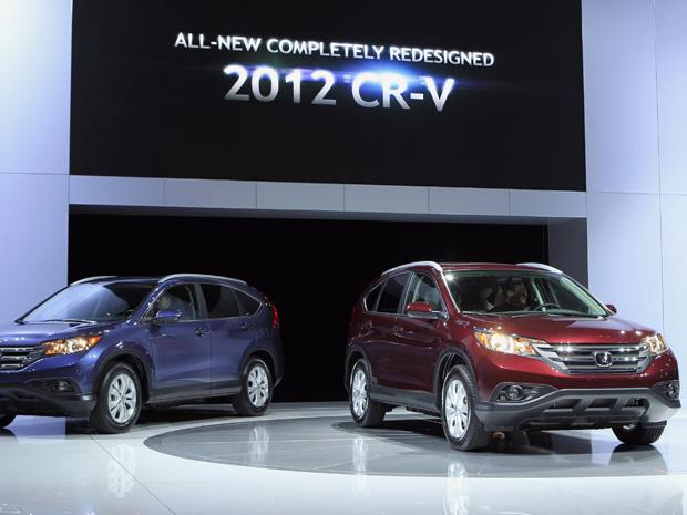Novo Honda CR-V, enfim, estreia em Los Angeles (Foto: Reuters)