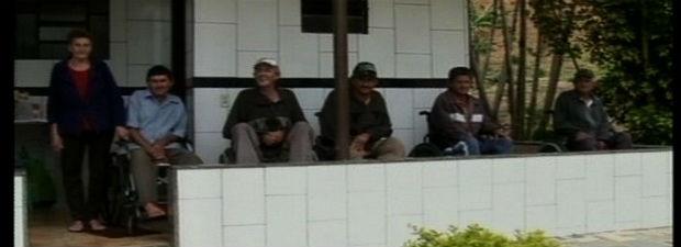 Sete irmãos usam cadeiras de rodas no Espírito Santo (Foto: Reprodução/TV Gazeta Sul)