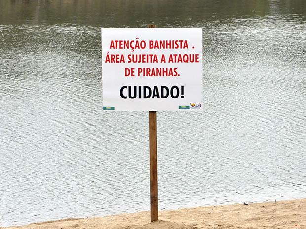Piranha no Rio Paraguai (Foto: Kelly Martins/G1)