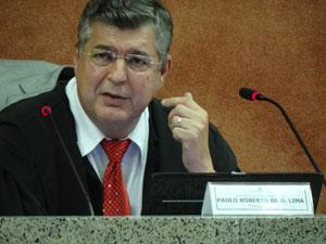 Paulo Roberto de Oliveira Lima - presidente do TRF-5 (Foto: Luna Markman/G1)
