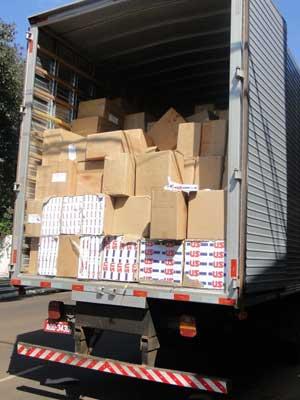 * PF faz operação contra organização especializada em contrabando.