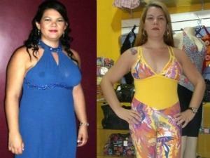 Jeanne emagreceu 16kg em três meses. (Foto: Reprodução/Jeanne Cavalcante)