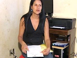Regimar Linhares da Silva diz que já se sentiu constrangida (Foto: Reprodução TV Integração)