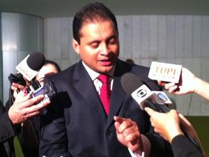 Deputado federal Weverton Rocha (PDT-MA), que acompanhou Lupi nas viagens ao Maranhão em 2009 (Foto: Felipe Neri/G1)