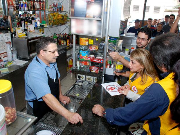 Blitz lei antiálcool (Foto: Divulgação/ Secretaria da Saúde)