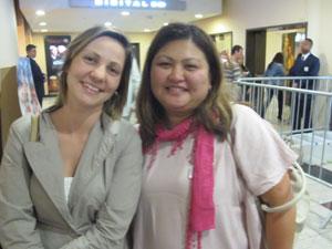 Karina e Priscilla (Foto: G1)