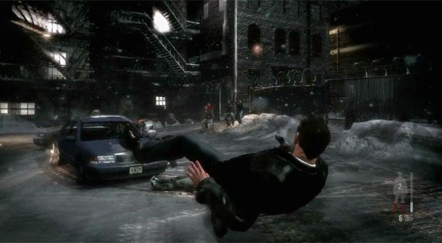 Câmera lenta, chamada de 'bullettime' volta no novo Max Payne (Foto: Divulgação)