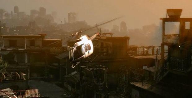 Cena de vídeo mostra favela de São Paulo (Foto: Divulgação)