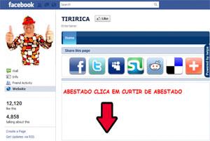 Páginas falsas de pessoas famosas já distribuíram vírus dentro do Facebook (Foto: Reprodução)