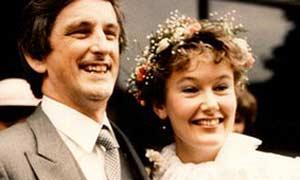 Clive e Débora no casamento (Foto: Arquivo de família)