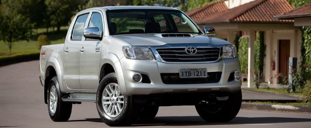 Toyota; Hilux; 2012; picape (Foto: Divulgação)
