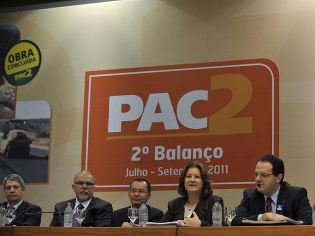 Bbalanço da segunda fase do Programa de Aceleração do Crescimento (Foto: Agência Brasil)