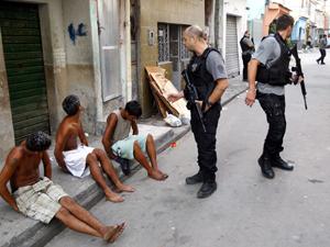Operação na Maré (Foto: Fernando Quevedo/Ag. O Globo)