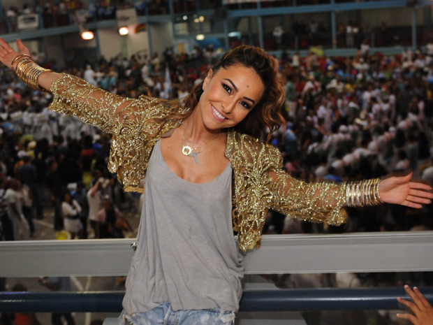 Sabrina Sato promete dançar o kuduro no desfile da Vila Isabel (Foto: Diego Mendes / Divulgação)