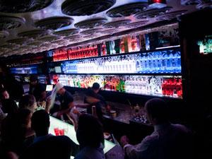 Bar do She Rocks   (Foto: Flavio Moraes / G1)
