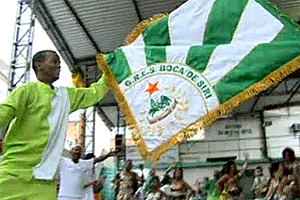 Bloco Boca de Siri vai estrear em 2012 como escola de samba (Reprodução / TV Globo)