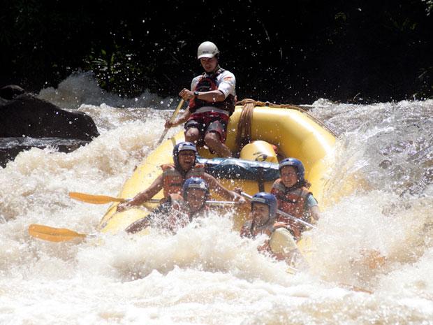 Brotas é conhecida como a capital do turismo de aventura no Brasil  (Foto: Caio Kenji/ G1)