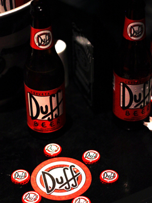 Duff Beer, favorite of Homer Simpson, debuts this week in Brazil