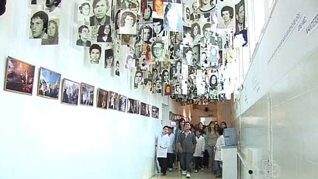 Antigo centro de tortura vira espaço cultural na Argentina (Foto: BBC)