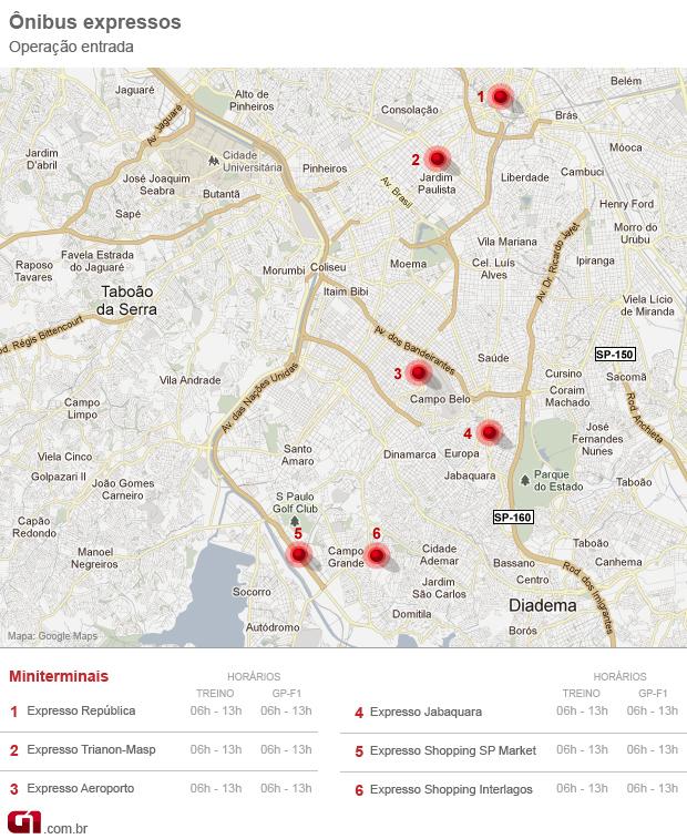 mapa 1 interlagos (Foto: arte)