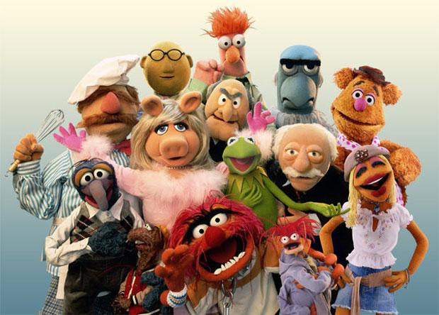 A turma dos Muppets em foto do filme 'Os Muppets' (Foto: Divulgação)