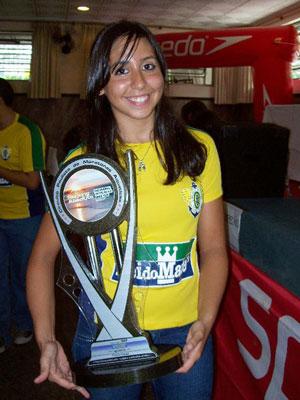 Natalia Lopes já ganhou vários campeonatos estaduais (Foto: Arquivo pessoal)