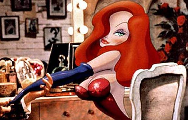 Kristina Rei se inspirou na personagem de desenho animado Jessica Rabbit. (Foto: Reprodução)