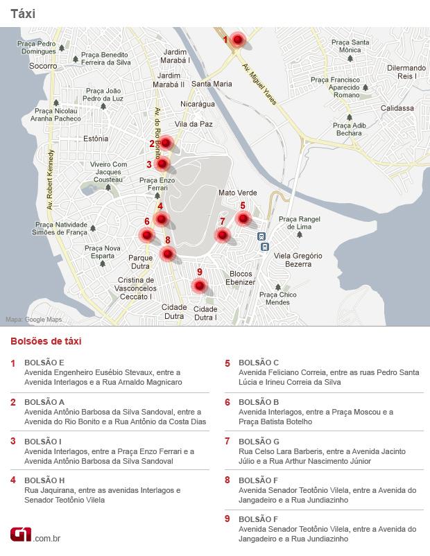 mapa 3 interlagos (Foto: arte)