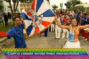 Londres será levada para a Sapucaí no carnaval 2012 (Reprodução/TV Globo)