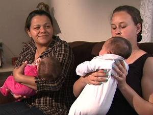 Bebês trocados (Foto: Reprodução/RPCTV)