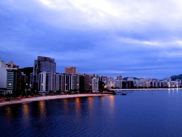 Praia de Icaraí, em Niterói (Foto: Vinicius Corrêa Ferreira/VC no G1)