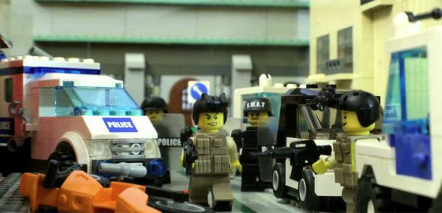 Fãs recriam vídeo de 'Call of Duty' com peças de Lego (Foto: Divulgação)